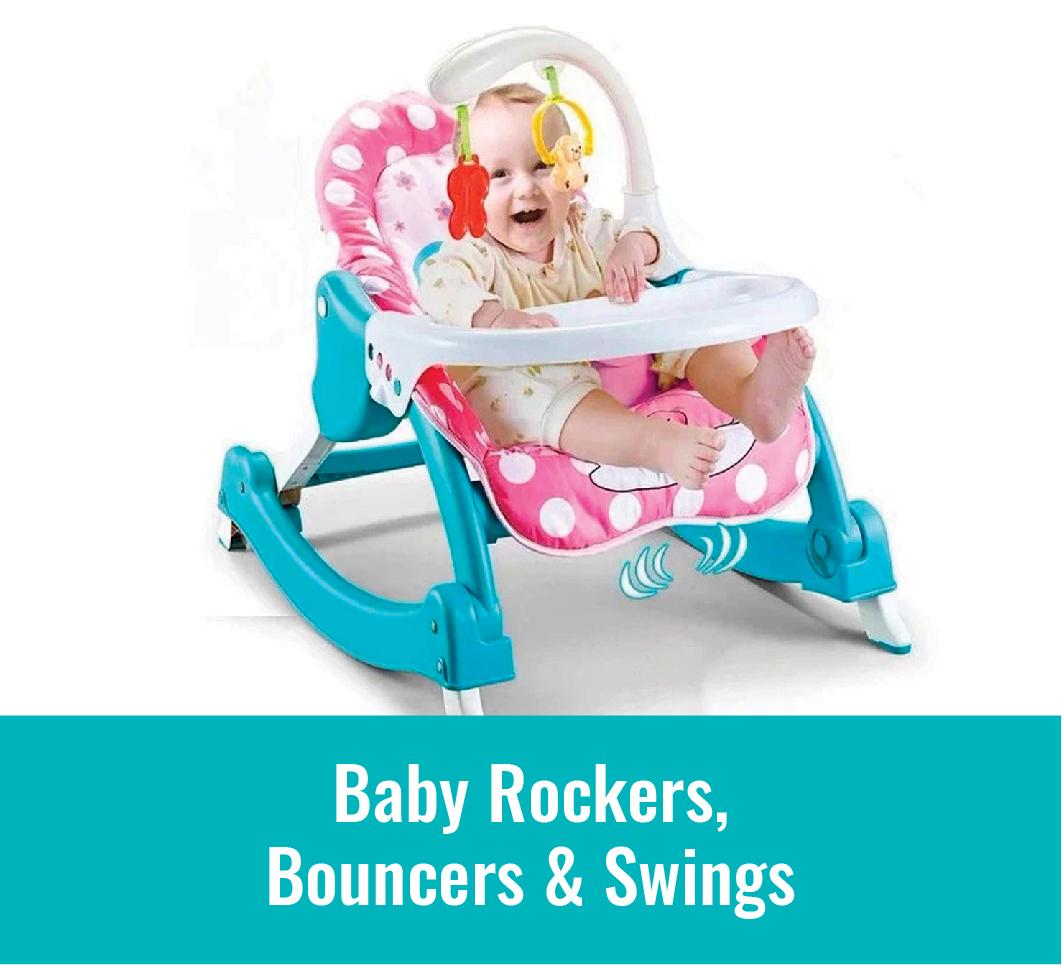 Baby Rockers, Bouncers & Swings