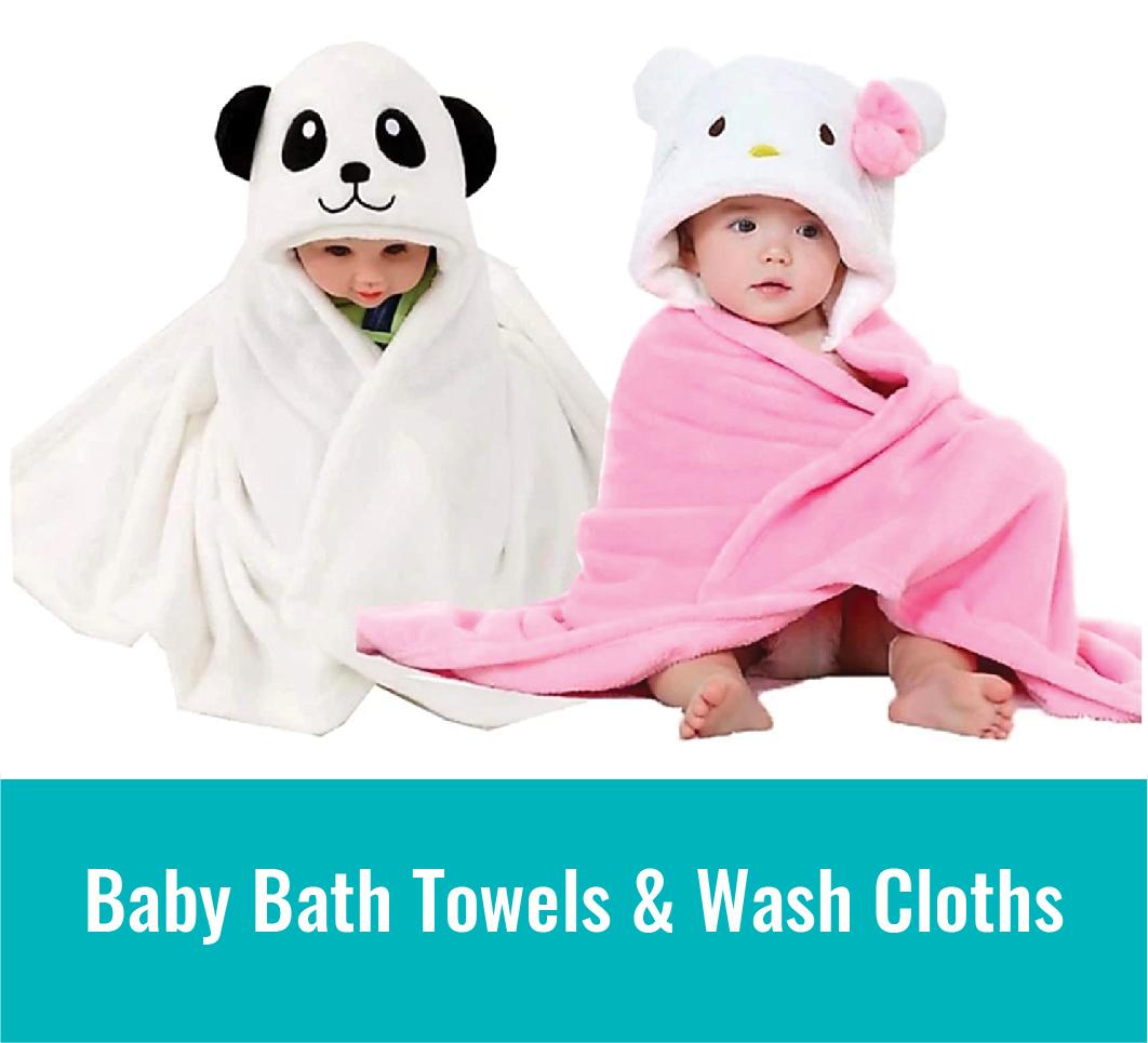 Baby Bath Towels & Wash Cloths