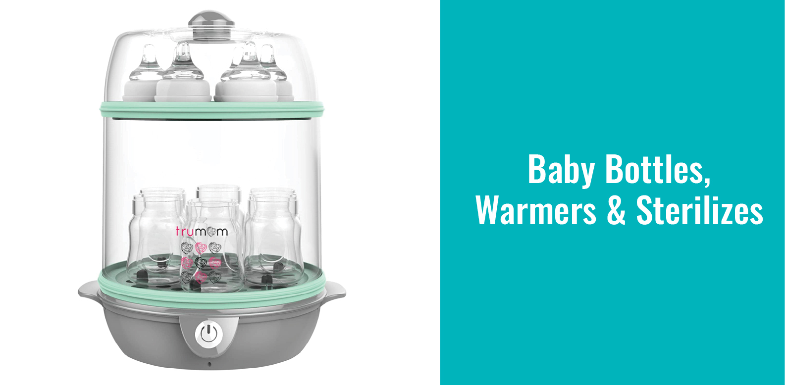 Baby Bottles, Warmers & Sterilizers