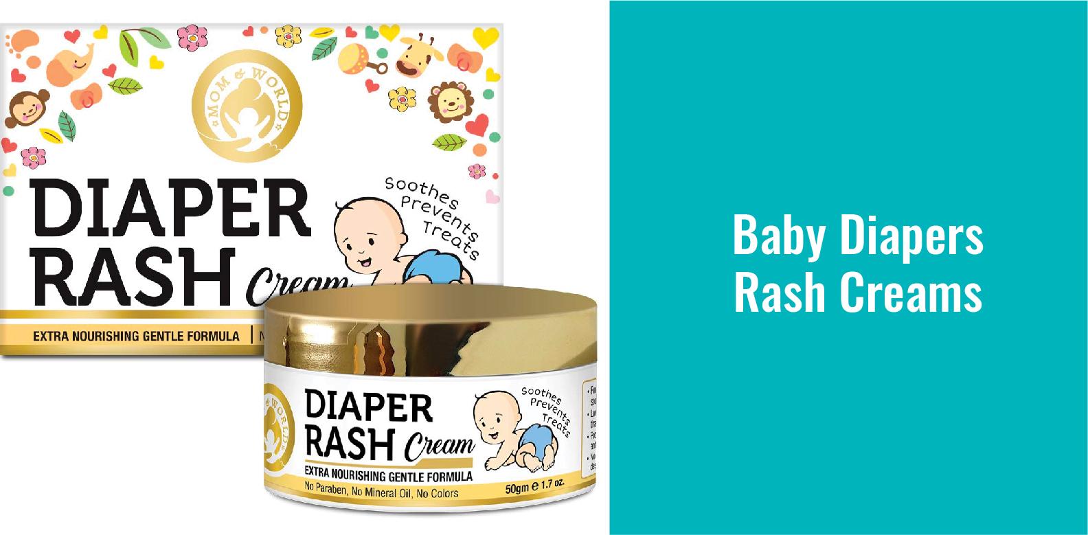 Baby Diaper Rash Creams